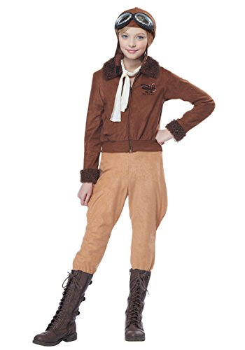 Child Amelia Earhart/Aviator Costume Small