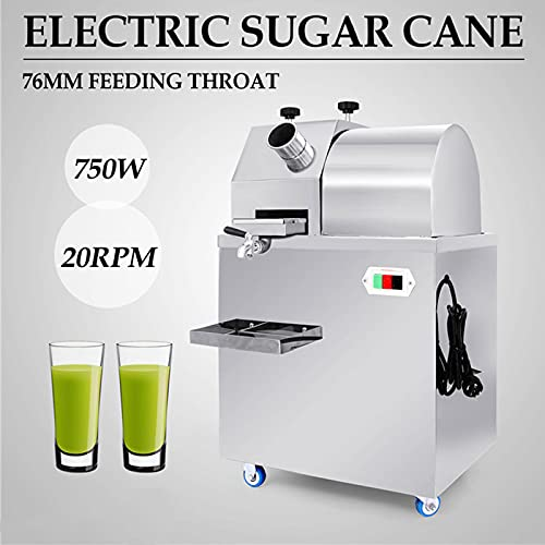 Commercial Electric Sugar Cane Juicer Electric Sugarcane Press Extractor Stainless Steel Electric Sugarcane Juice Extractor