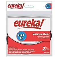 Electrolux Homecare Products 61120G Extended Life Style U Belt, For Eureka Vacuum, 2-Pack - Quantity 12
