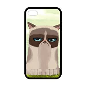 Grumpy Cat in Grassland Case cover for iPhone 5 5s protective Durable black case