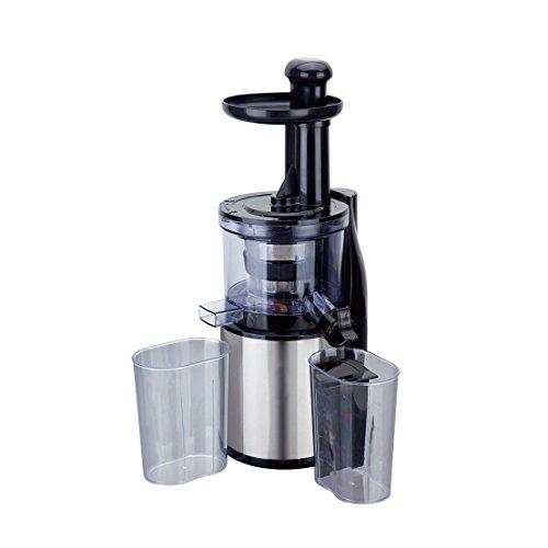 Wonderchef Compact 200 Watt Cold Press Slow Juicer  Steel/Transparent