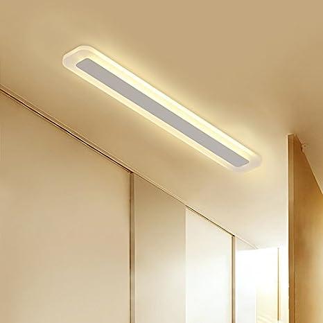Led lámpara de techo largo pasillo balcón adherir la ...