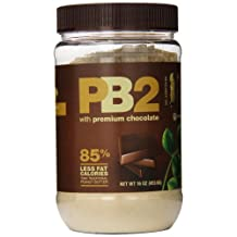 PB2 Powdered Peanut Butter with Premium Chocolate (12 Pack), 16 Oz