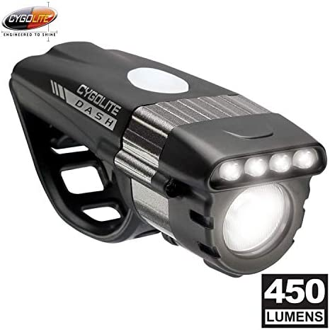 Cygolite Dash Pro 450 lm USB Rechargeable Bicycle Headlight