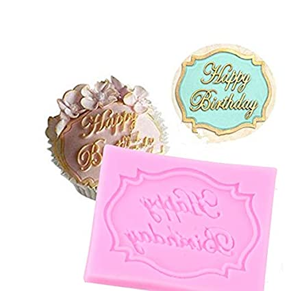 lets dream happy birthday silicone molds chocolate fondant letter form of the alphabet cake decoration tools