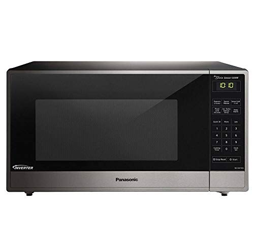 Panasonic NN-SN745S Built-In/Countertop Microwave Oven - With Inverter Technology - Stainless Steel - 1.6 Cu. Ft. 1250W (Renewed)