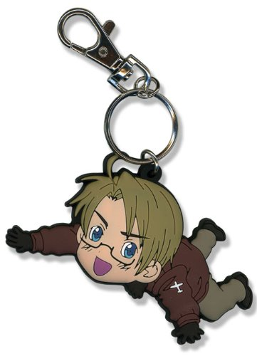 Great Eastern Entertainment Hetalia America PVC Keychain (Hetalia America Keychain)