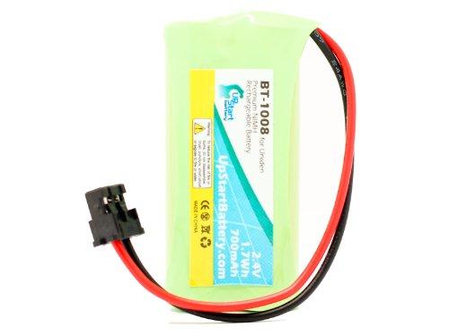 UpStart Battery BT-1008 Battery for Uniden D1780, D1680-4...