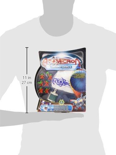 Atomicron Paracaídas con figura Hydrogen (Giochi Preziosi 18471): Amazon.es: Juguetes y juegos