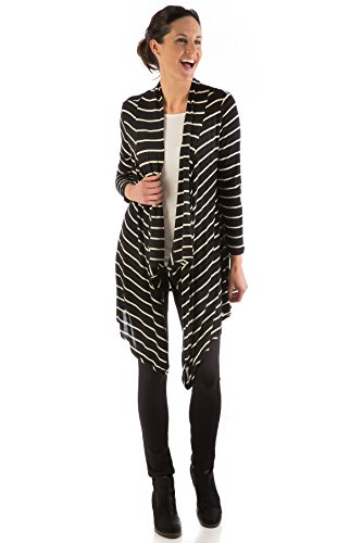 hsw313-l-xl-black-natural-striped-bamboodreams-sweater-hilary-long-wrap