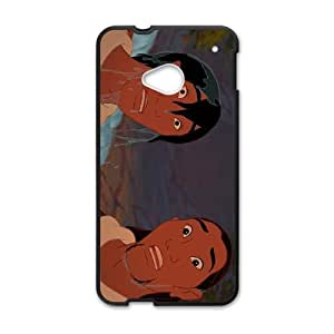 HTC One M7 Cell Phone Case Black Brother Bear 2 Character Atka ijdw
