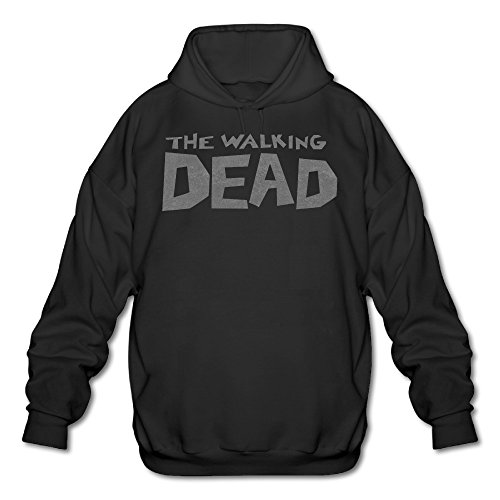Price comparison product image SAMMOI The Walking Movie Dead Men's Soft Fleece Sweatshirt L Black