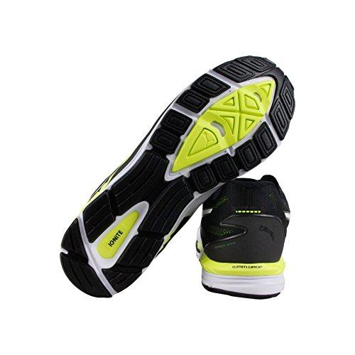 Puma Mens Speed 600 Ignite 2 Running Shoes - True Blue-Bright Plasma-Puma Black Puma Black-safety Yellow-puma White 0jhRSY