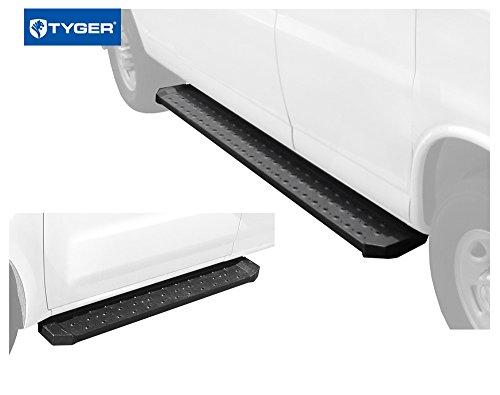 "Tyger Auto TG-RB2N1104B Van Running Boards for 2012-2018 Nissan NV 1500/2500/3500 Cargo Van (Driver side 53"" long & Passenger side 96"" long)"