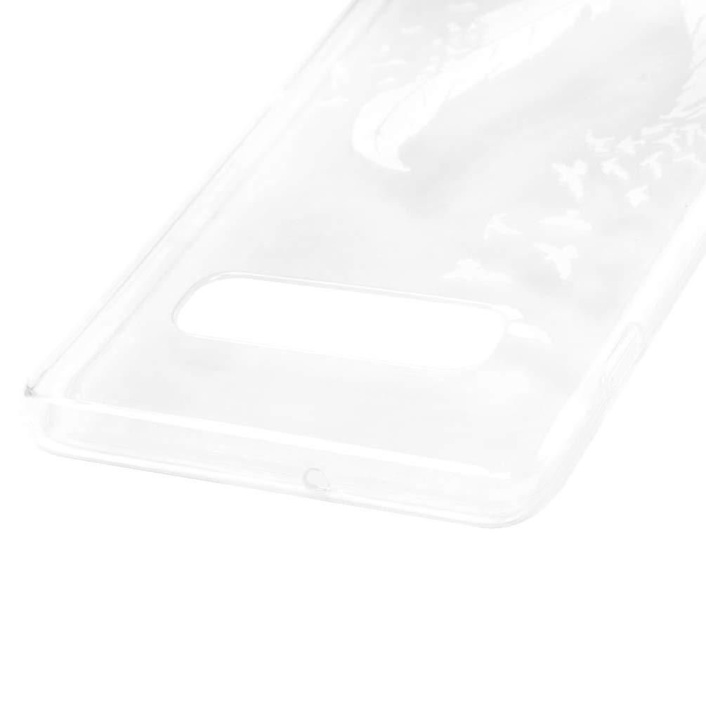 Ultrad/ünnen Weich Flexibel Silikon TPU Schutzh/ülle Bumper Anti-Kratzer Sto/ßfest Smartphone Abdeckung Cover Blauer Schmetterling Mlorras H/ülle f/ür Samsung Galaxy S10 6.1 Zoll Gemalt Handyh/ülle Case