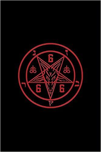 Satanic Pentagram Magical Journal And Notebook 666 Satan Lucifer