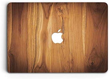 ZVStore Plastic Cover Macbook Wooden