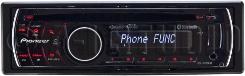 Pioneer DEH P6200BT Receiver Bluetooth Control product image