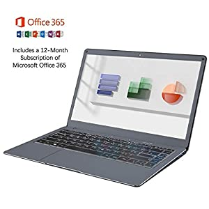 Jumper Laptop 13.3 inch with Microsoft Office 365 FHD Computer 4GB 64GB Windows 10 , USB 3.0, Dual Band Wifi, support…