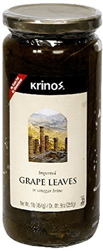 Krinos Imported Grape Leaves, 16 Ounce (1 - Krinos Grape Leaves