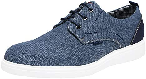 Bruno Marc Men's Lace-up Fashion Sneakers Casual Canvas Shoes