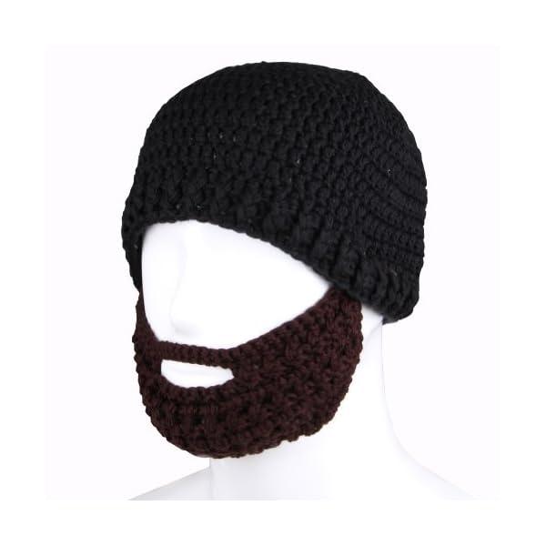 11a536d18 FREE FISHER Unisex Knit Octopus Yarn Tentacle Beard Beanie Kraken Hat Funny  Gift