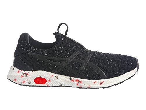 cheap sale get to buy ASICS Men's HyperGEL-Kenzen Nylon Running Shoes Black/Fiery Red/Carbon outlet best sale popular cheap online tumblr cheap price xWkaBJ