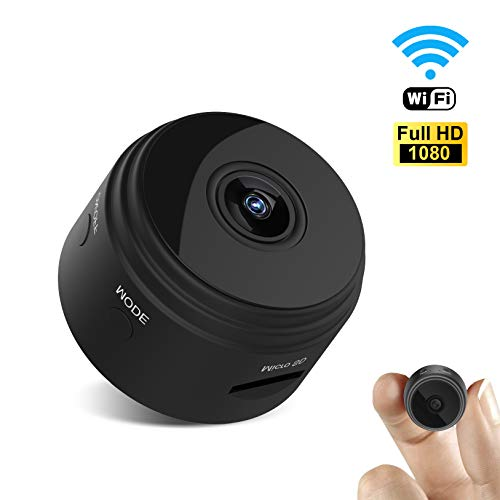 (UTOPB Mini Spy Hidden Camera, Latest Wireless WiFi HD 1080P Camera Cam with Night Vision and Motion Detective, Small Security Nanny Cameras Cams with APP for Home and Office)