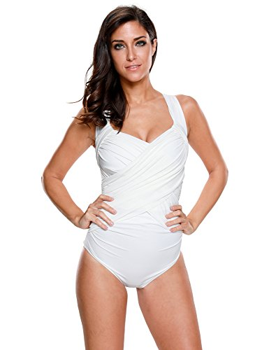 LookbookStore Maillot One Piece Swimsuit Bathing