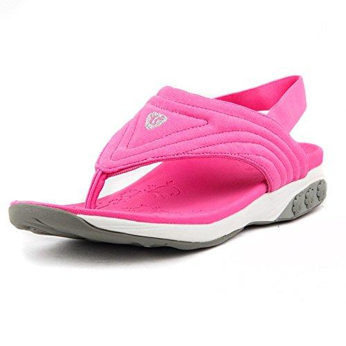 Therafit Sommer Kvinders Stof Slingback Sport Sandal - For Plantar Fasciitis / Mund Smerte Lyserød lGypgG