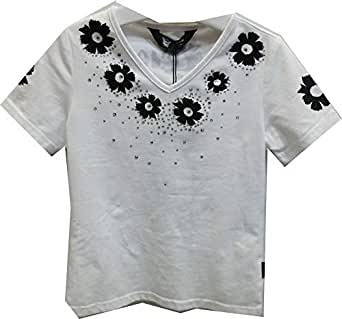 Jojo White Top For Girls 15 Us