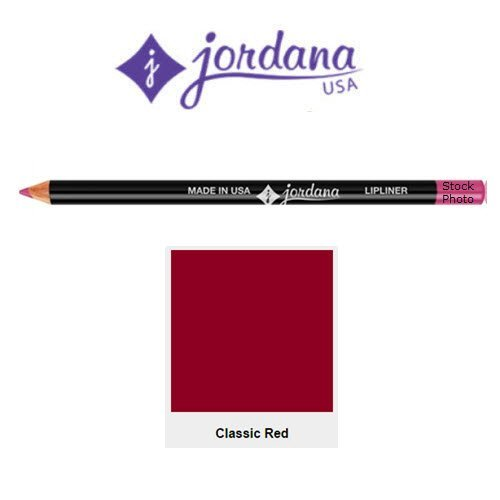 JORDANA Classic Lipliner Pencil - Classic Red (並行輸入品) B00VVU0M74