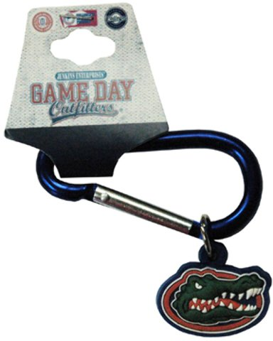 Game Day Outfitters 1937901 University of Florida - Keychain Carabiner PVC - Case of 144 by Game Day Outfitters