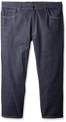 Rocawear Men's Big and Tall Fortress Jean, Raw Blue, 48/32 ()