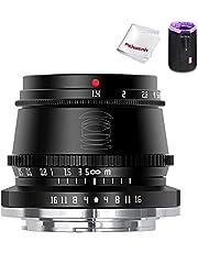 TTArtisan 35mm F1.4 handmatige focus vaste lens, compatibel met Nikon Z-mount Z5 Z6 Z6II Z7 ZFC spiegelloze camera's (black)