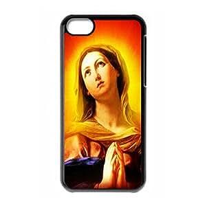 Virgin Mary logo for iPhone 5C hard back case