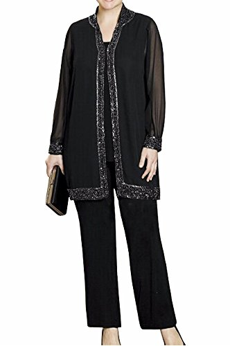 Womens 3 Piece Pant Suit - 7