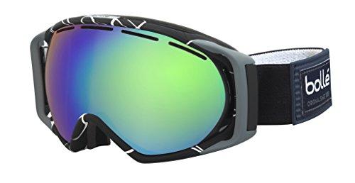 Bollé 21457 Gravity Masque de ski Noir/Blanc Taille M-L