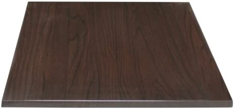 Bolero Square Table Top Dark Brown 700mm Wood Restaurant Catering Hotel Bar