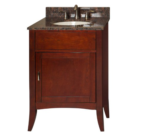 Kaco International 385-2400-TB Metro 24-Inch Vanity and T...