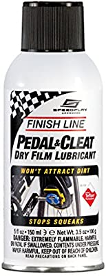 Finish Line Pedal and Cleat Dry Film Lubricant Aerosol, 5-Ounce: Buy Online  at Best Price in UAE - Amazon.ae
