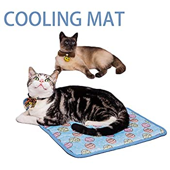 Amazon Com Nacoco Pet Cooling Mat Cat Dog Cushion Pad