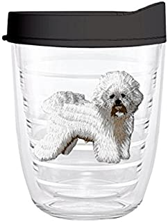 product image for Smile Drinkware USA-BICHON 12oz Tritan Insulated Tumbler With Lid and Straw