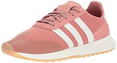 adidas Originals Women's FLB W Sneaker, RAW Pink Crystal White, 5 Medium US