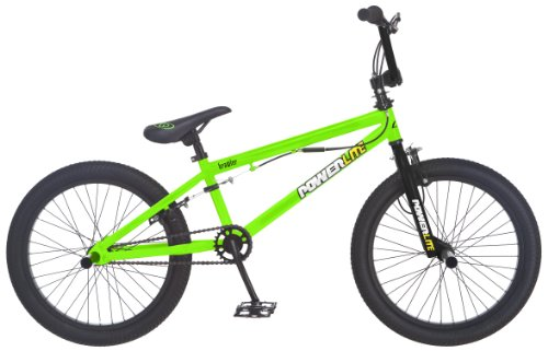 Powerlite Brawler 20-Inch Freestyle Bicycle, Neon Green price