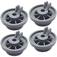 Geengle 165314 4-Pack Dishwasher Lower Rack Wheel Replacement for Bosch and Kenmore Dishwasher - Replaces 00420198 420198 PS3439123
