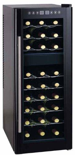 Cantinetta - frigo porta 27 bottiglie a doppia temperatura: Amazon ...