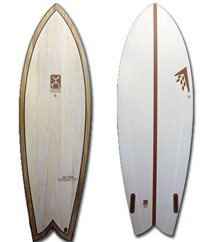 FIREWIRE SURFBOARDS ファイヤーワイヤー サーフボード [限定] GO FISH WOOD [5.5] ゴーフィッシュ 木目 Rob Machado ロブマチャド [LFT] ツインフィッシュ ショートボード 5.5_29.3L GO_FISH_WOOD B07FZK12D1