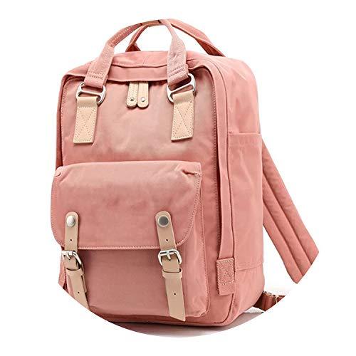 Students Fashion Backpack Mochila Feminina Mujer 2018 School Bags Bolsa Escolar Bagpack,Original Pink