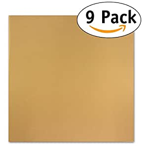 "Pack of 9 Premium 14"" X 14"" Non-stick Dehydrator Sheets- For Excalibur 2500, 3500, 2900 or 3900"